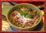 Овощи с пророщенной чечевицей под кокосовым бешамелем (мультиварка KitchenAid)