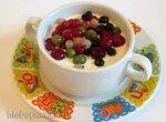 Десерт йогуртный (мультя,йогуртница) - летняя еда для детей и взрослых