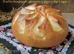 Хлеб на виноградных дрожжах из разных видов муки
