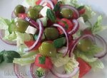 Сочный салат с арбузом и фетой