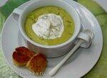 Французский крем-суп с мороженым