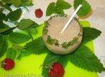 Коктейль «Имбирь-мелисса» с «ленивым» мороженым