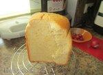 Philips HD9046. Медовый белый хлеб с кукурузной мукой в хлебопечке