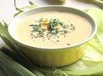 Суп из свежей кукурузы и кешью