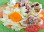 Суп индюшачий с домашней лапшой (скороварка Steba)