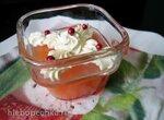Грейпфрутовое желе с творожным пикантным кремом