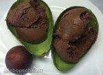 Шоколадное мороженое с авокадо