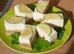 Сырный пирог с кабачками, глазированными в бульоне