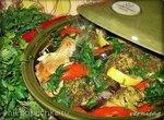 Тажин с курицей и овощами