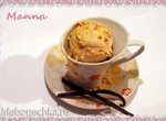 Соевое мороженое с бананом и персиками (компрессорная мороженица Nemox Talent Gelato&Sorbet)