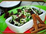 Салат из красной кислицы