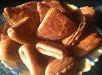 Творожные треугольники в коричневом сахаре