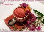 Клубничное овсяное мороженое с фасолью (компрессорная мороженица Nemox Talent Gelato&Sorbet)