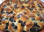 Ягодный пирог из черствого батона
