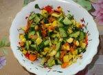 Салат овощной Холодок