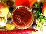 Теплый и холодный соусы из терна