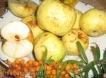 Яблоки мочёные (приготовление в вакууме)