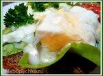 Яйцо-пашот в пищевой плёнке