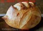 Хлеб заварной с кукурузной мукой