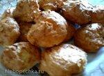 Сырные пончики с луком
