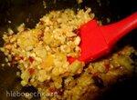 Начинка для пирогов из орехов, лимона, изюма и меда