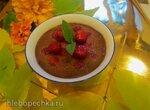Шоколадный крем (Pots de creme) с вишней