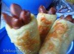 Сосиски в картофельном тесте