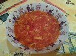 Суп томатный для постройнения (посвящается Танюшке Жирафке)
