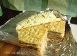 Пирог слоеный по-быстрому