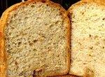 Хлеб с манкой и хлопьями на прессованных дрожжах в хлебопечке