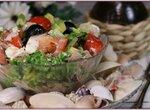 Греческий островной салат