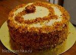 Морковный торт с цедрой апельсина