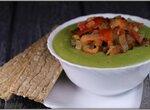 Постный гороховый суп с тмином