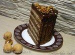 Торт Прага с абрикосовой пропиткой и грильяжной крошкой (И.Овчинниковой)