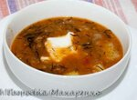 Суп из кильки в томате с перловкой