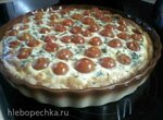 Лоранский пирог с брынзой и шпинатом