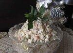 Наш семейный салат Оливье с тунцом