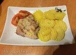 Куриное бедро и картофель с тимьяном (су-вид)