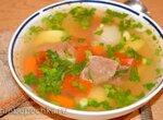 Суп тушенка (два варианта)