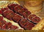 Пирог с инжиром и сыром Камамбер