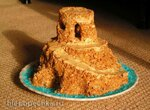 Торт Муравейник на сгущенке