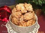 Печенье Червячки с цельнозерновой мукой и грецкими орехами (через мясорубку)