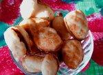 Орешки, белочки, грибочки из хрустящего теста с вареной сгущенкой, хрустяшками из овсянки и орешками