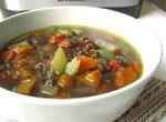 Пряный суп из чечевицы, тыквы и сельдерея в мультиварке Steba DD2