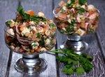 Правильный салат из чечевицы