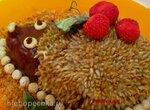 Торт-потешка без выпечки «Ёжик»
