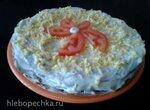 Печеночный торт Сытный (Пиццамейкер Princess 115000/ скооворода).