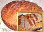 Хлеб пшеничный, цельнозерновой, с кокосовой стружкой (по мотивам Пушистого)