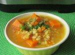 Суп из перловки с тыквой в мультиварке Steba DD2
