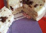 Творожный десерт типа Баунти в микроволновке
